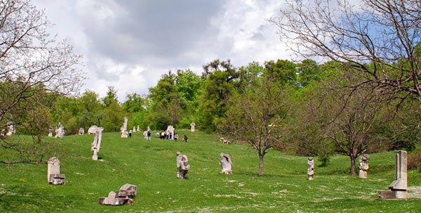 Image of Magura Sculpture Camp, one of the most beautiful places in Buzau