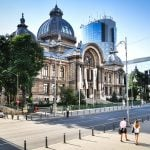 Image of CEC Palace in Bucharest available for visit in 4 hours Bucharest city tour - Standard