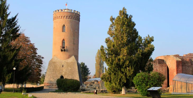 Image of Chindiei Tower Targoviste Romania