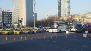 Image of Victoriei Square in Bucharest city tour