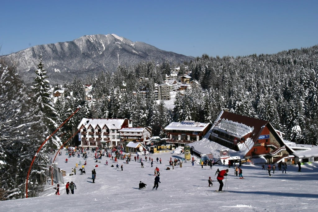 Image of Sinaia ski slope Otopeni airport to Sinaia transport