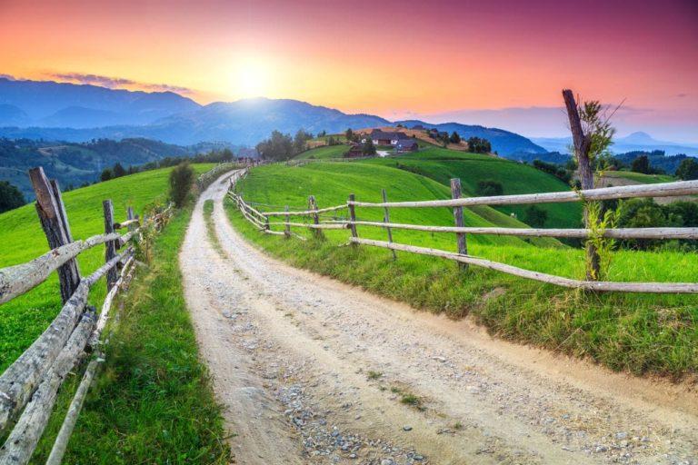 Imagine cu Romania rurala - Romania travel