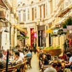 Calea Victoriei passage in Bucharest downtown visited in a full day Bucharest city tour
