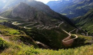 Image of Transalpina Road one of the most beautiful roads in Europe