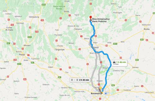 Google map tur Slanic Prahova